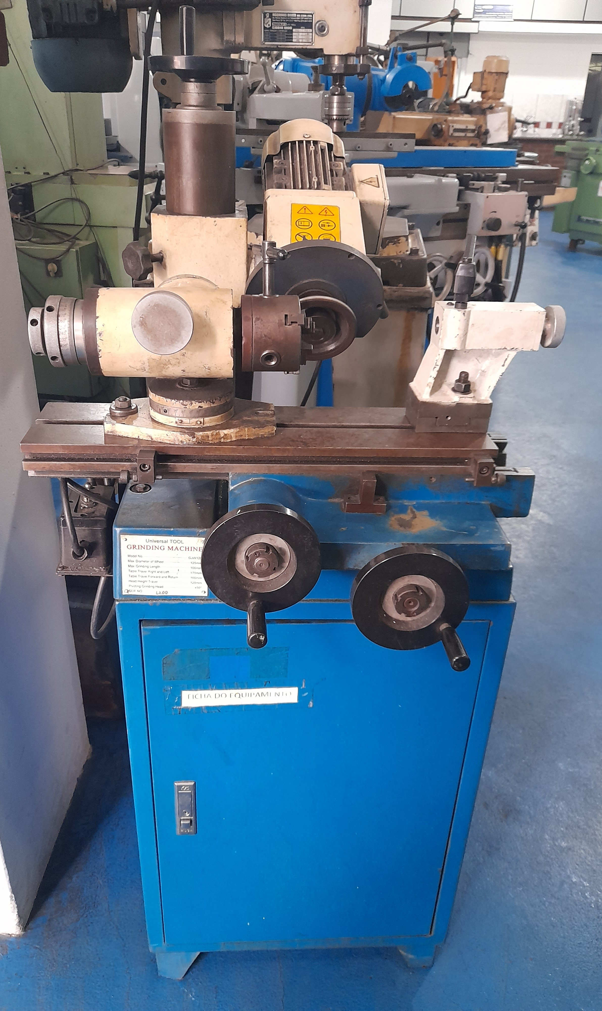 Afiadora Grinding Machine